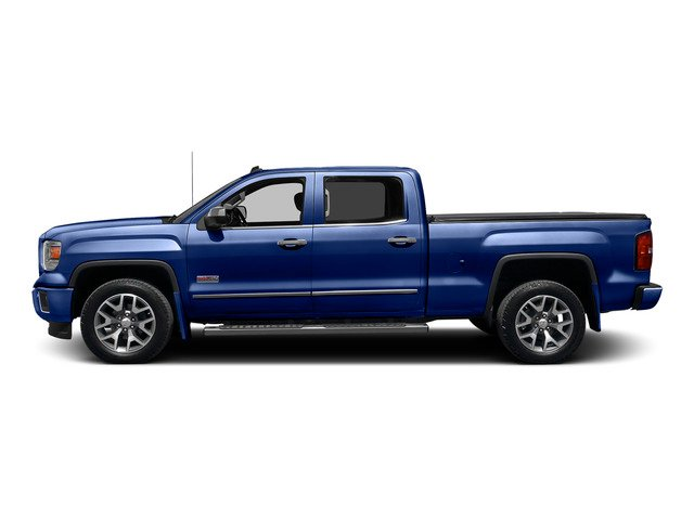 Stone Blue Metallic 2015 GMC Sierra 1500 Pictures Sierra 1500 Crew Cab SLE 2WD photos side view
