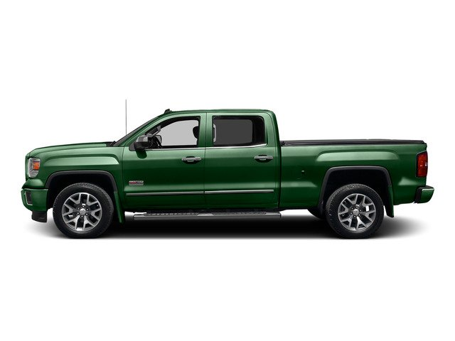 Emerald Green Metallic 2015 GMC Sierra 1500 Pictures Sierra 1500 Crew Cab SLE 2WD photos side view