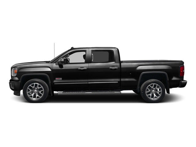 Onyx Black 2015 GMC Sierra 1500 Pictures Sierra 1500 Crew Cab SLE 2WD photos side view