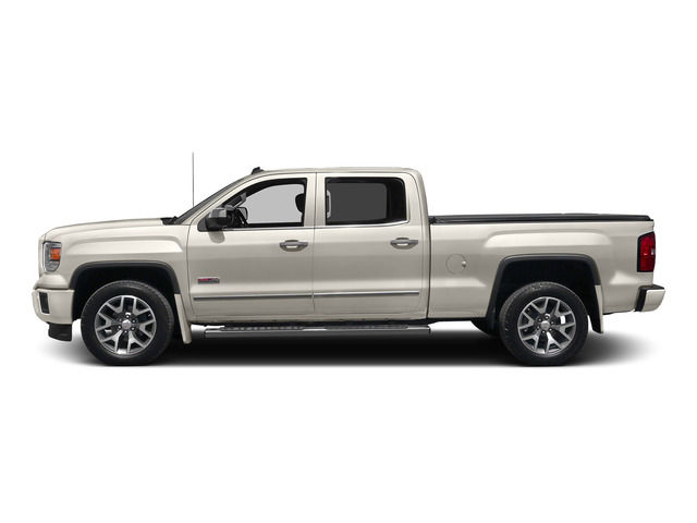 White Diamond Tricoat 2015 GMC Sierra 1500 Pictures Sierra 1500 Crew Cab SLE 2WD photos side view