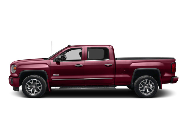 Sonoma Red Metallic 2015 GMC Sierra 1500 Pictures Sierra 1500 Crew Cab SLE 2WD photos side view
