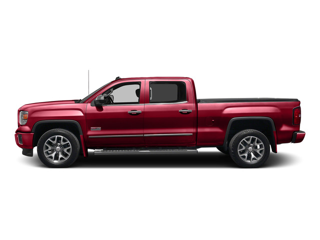 Fire Red 2015 GMC Sierra 1500 Pictures Sierra 1500 Crew Cab SLE 2WD photos side view