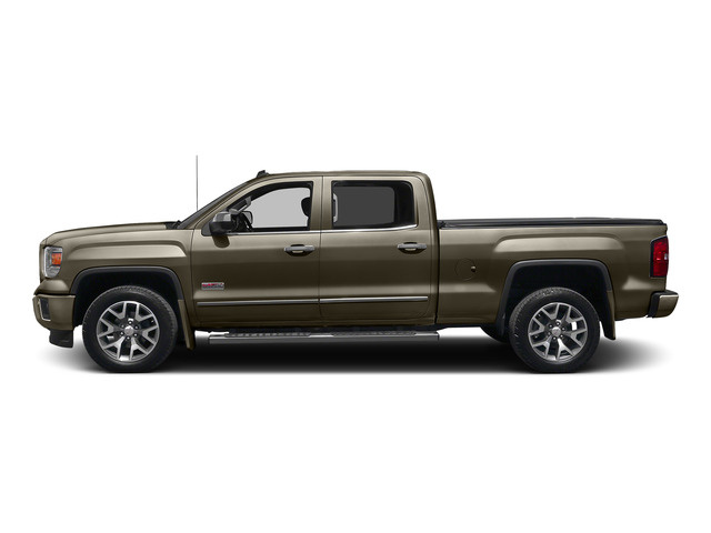 Bronze Alloy Metallic 2015 GMC Sierra 1500 Pictures Sierra 1500 Crew Cab SLE 2WD photos side view