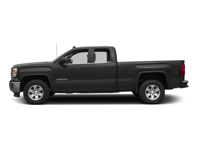 Light Steel Gray Metallic 2015 GMC Sierra 1500 Pictures Sierra 1500 Extended Cab SLT 4WD photos side view