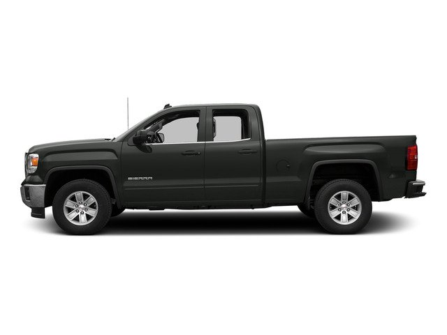 Light Steel Gray Metallic 2015 GMC Sierra 1500 Pictures Sierra 1500 Extended Cab SLE 4WD photos side view