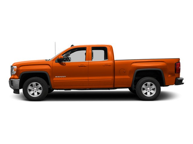 Cayenne Metallic 2015 GMC Sierra 1500 Pictures Sierra 1500 Extended Cab SLE 4WD photos side view
