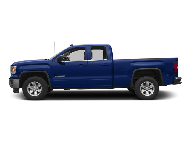 Stone Blue Metallic 2015 GMC Sierra 1500 Pictures Sierra 1500 Extended Cab SLE 4WD photos side view