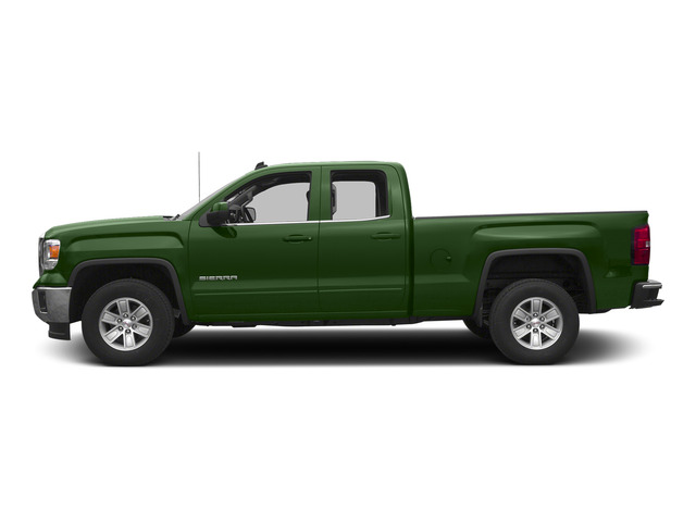 Emerald Green Metallic 2015 GMC Sierra 1500 Pictures Sierra 1500 Extended Cab SLE 4WD photos side view