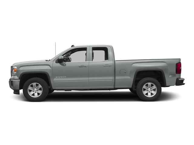 Quicksilver Metallic 2015 GMC Sierra 1500 Pictures Sierra 1500 Extended Cab SLT 4WD photos side view