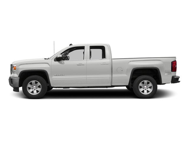 Summit White 2015 GMC Sierra 1500 Pictures Sierra 1500 Extended Cab SLE 4WD photos side view
