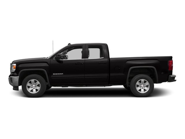 Onyx Black 2015 GMC Sierra 1500 Pictures Sierra 1500 Extended Cab SLE 4WD photos side view