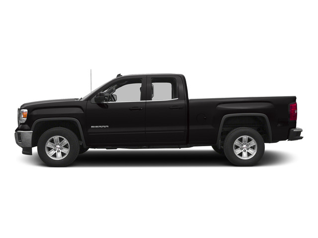 Onyx Black 2015 GMC Sierra 1500 Pictures Sierra 1500 Extended Cab SLT 4WD photos side view