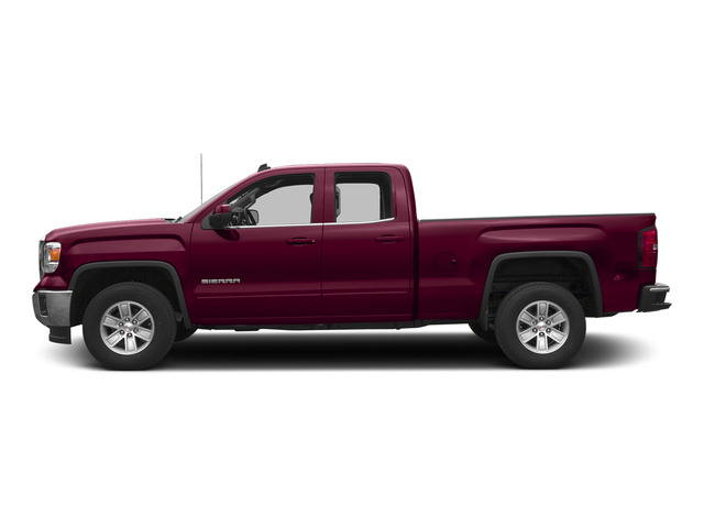 Sonoma Red Metallic 2015 GMC Sierra 1500 Pictures Sierra 1500 Extended Cab SLT 4WD photos side view
