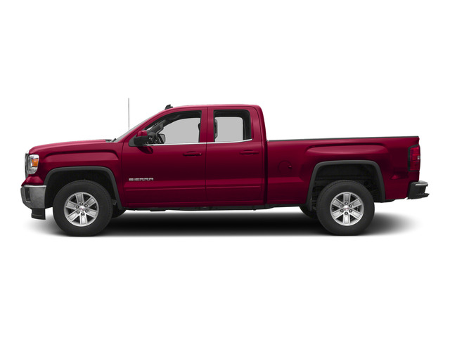 Fire Red 2015 GMC Sierra 1500 Pictures Sierra 1500 Extended Cab SLT 4WD photos side view