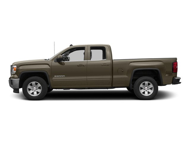 Bronze Alloy Metallic 2015 GMC Sierra 1500 Pictures Sierra 1500 Extended Cab SLT 4WD photos side view