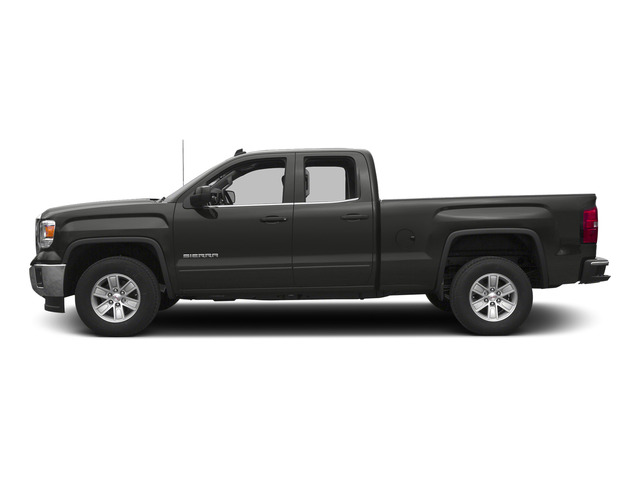 Iridium Metallic 2015 GMC Sierra 1500 Pictures Sierra 1500 Extended Cab SLE 4WD photos side view