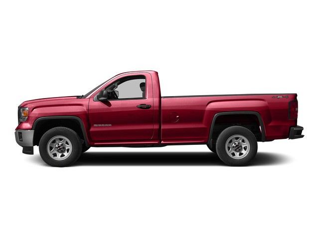 Fire Red 2015 GMC Sierra 1500 Pictures Sierra 1500 Regular Cab 2WD photos side view