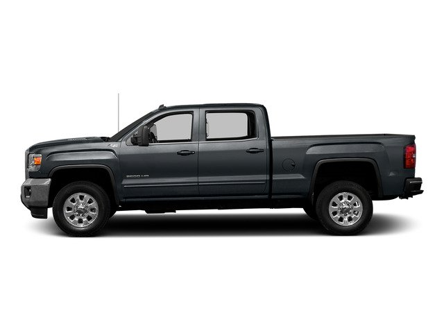 Stealth Gray Metallic 2015 GMC Sierra 2500HD Pictures Sierra 2500HD Crew Cab Work Truck 4WD photos side view