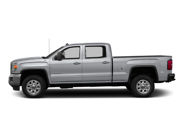 Quicksilver Metallic 2015 GMC Sierra 2500HD Pictures Sierra 2500HD Crew Cab Work Truck 4WD photos side view