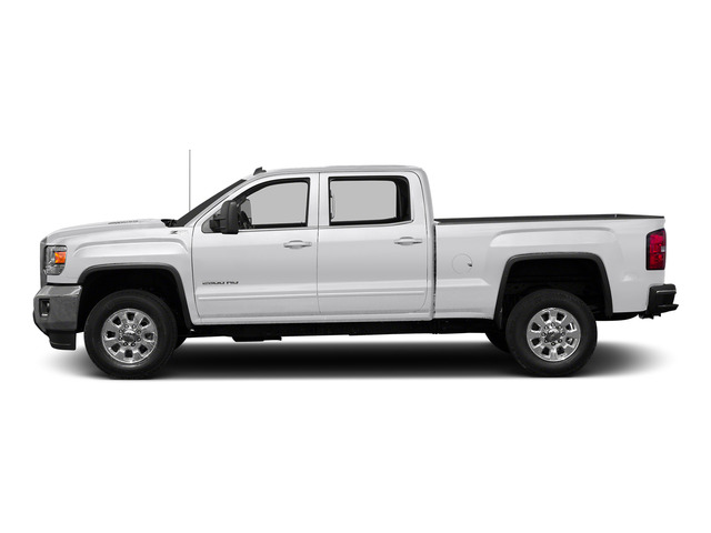 Summit White 2015 GMC Sierra 2500HD Pictures Sierra 2500HD Crew Cab Work Truck 4WD photos side view