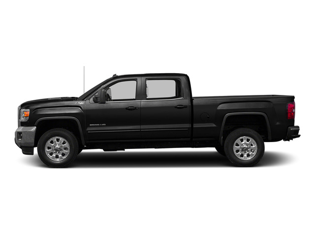 Onyx Black 2015 GMC Sierra 2500HD Pictures Sierra 2500HD Crew Cab Work Truck 4WD photos side view