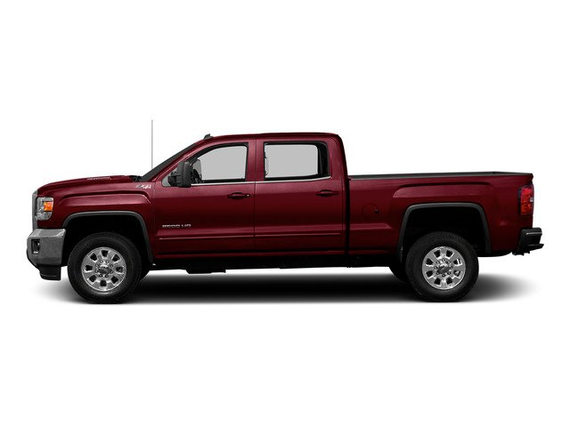 Sonoma Red Metallic 2015 GMC Sierra 2500HD Pictures Sierra 2500HD Crew Cab Work Truck 4WD photos side view
