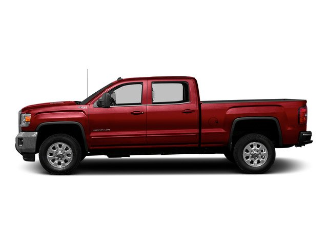 Fire Red 2015 GMC Sierra 2500HD Pictures Sierra 2500HD Crew Cab Work Truck 4WD photos side view
