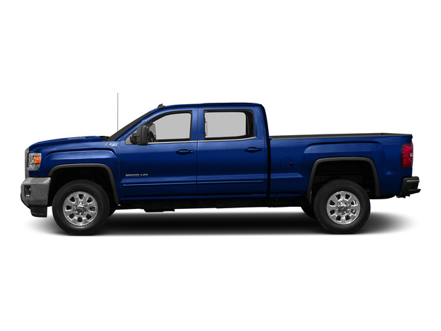 Cobalt Blue Metallic 2015 GMC Sierra 2500HD Pictures Sierra 2500HD Crew Cab Work Truck 4WD photos side view