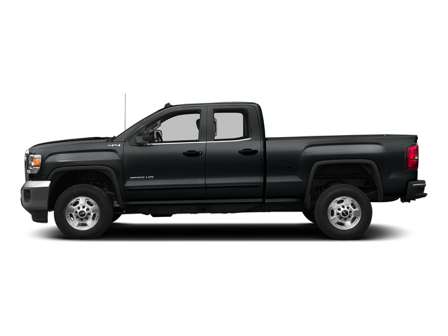 Stealth Gray Metallic 2015 GMC Sierra 2500HD Pictures Sierra 2500HD Extended Cab SLT 4WD photos side view