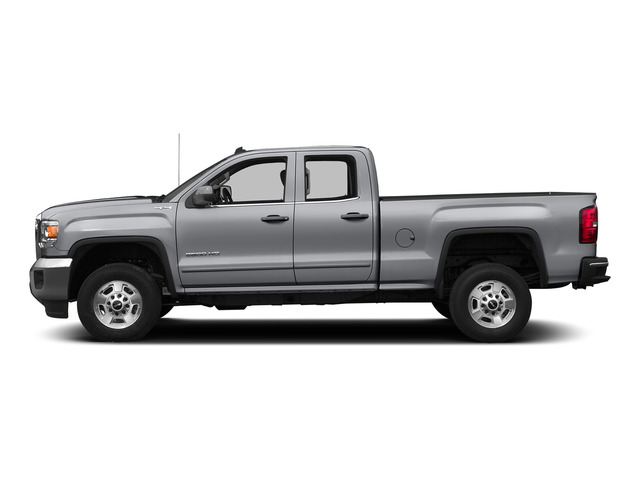 Quicksilver Metallic 2015 GMC Sierra 2500HD Pictures Sierra 2500HD Extended Cab SLT 4WD photos side view