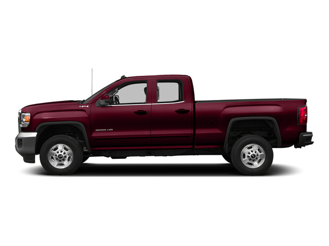 Sonoma Red Metallic 2015 GMC Sierra 2500HD Pictures Sierra 2500HD Extended Cab SLT 4WD photos side view