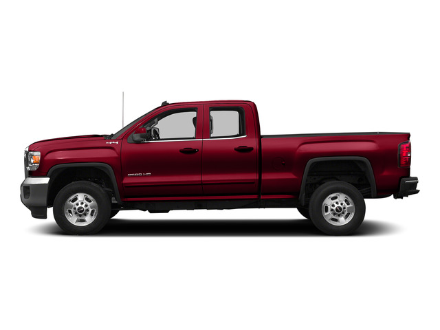 Fire Red 2015 GMC Sierra 2500HD Pictures Sierra 2500HD Extended Cab SLT 4WD photos side view