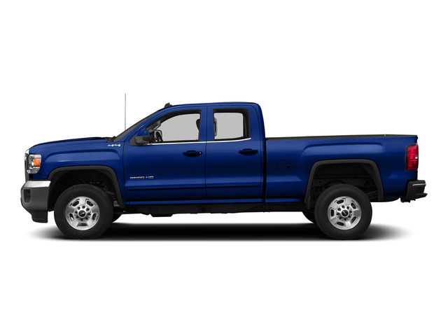 Cobalt Blue Metallic 2015 GMC Sierra 2500HD Pictures Sierra 2500HD Extended Cab SLT 4WD photos side view
