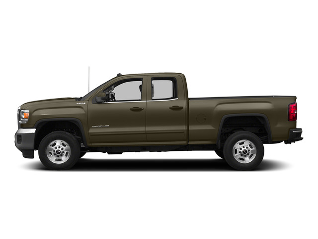Bronze Alloy Metallic 2015 GMC Sierra 2500HD Pictures Sierra 2500HD Extended Cab SLT 4WD photos side view