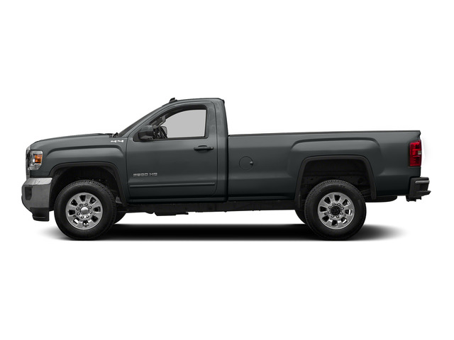 Stealth Gray Metallic 2015 GMC Sierra 2500HD Pictures Sierra 2500HD Regular Cab SLE 4WD photos side view
