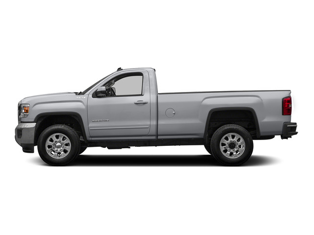 Quicksilver Metallic 2015 GMC Sierra 2500HD Pictures Sierra 2500HD Regular Cab SLE 4WD photos side view