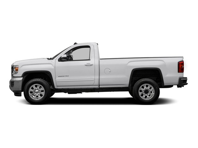 Summit White 2015 GMC Sierra 2500HD Pictures Sierra 2500HD Regular Cab SLE 4WD photos side view