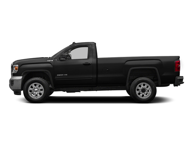 Onyx Black 2015 GMC Sierra 2500HD Pictures Sierra 2500HD Regular Cab SLE 4WD photos side view