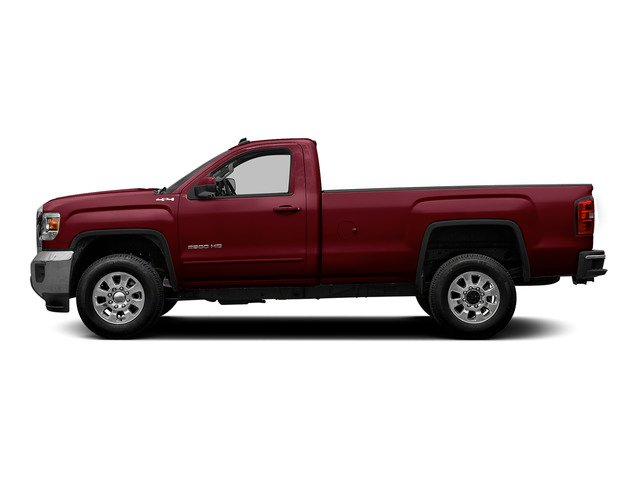 Sonoma Red Metallic 2015 GMC Sierra 2500HD Pictures Sierra 2500HD Regular Cab SLE 4WD photos side view