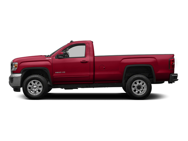 Fire Red 2015 GMC Sierra 2500HD Pictures Sierra 2500HD Regular Cab SLE 4WD photos side view