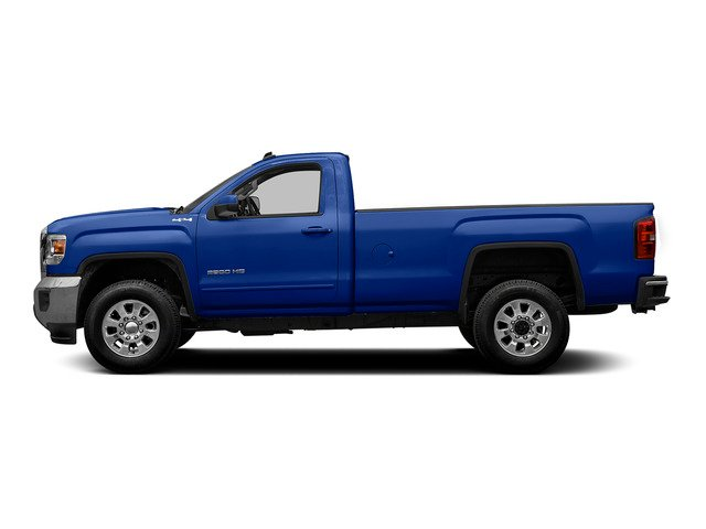 Cobalt Blue Metallic 2015 GMC Sierra 2500HD Pictures Sierra 2500HD Regular Cab SLE 4WD photos side view