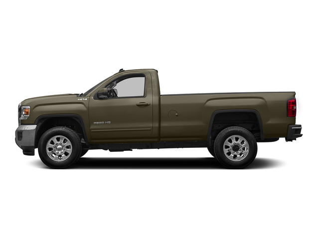 Bronze Alloy Metallic 2015 GMC Sierra 2500HD Pictures Sierra 2500HD Regular Cab SLE 4WD photos side view