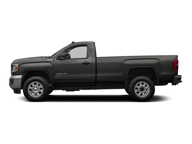 Iridium Metallic 2015 GMC Sierra 2500HD Pictures Sierra 2500HD Regular Cab Work Truck 2WD photos side view