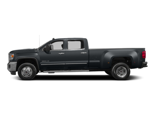 Stealth Gray Metallic 2015 GMC Sierra 3500HD Pictures Sierra 3500HD Crew Cab Work Truck 2WD photos side view