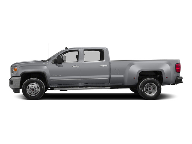Quicksilver Metallic 2015 GMC Sierra 3500HD Pictures Sierra 3500HD Crew Cab Work Truck 2WD photos side view