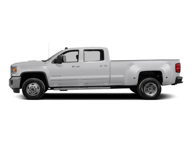 Summit White 2015 GMC Sierra 3500HD Pictures Sierra 3500HD Crew Cab Denali 2WD photos side view
