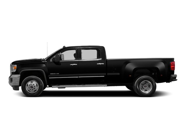 Onyx Black 2015 GMC Sierra 3500HD Pictures Sierra 3500HD Crew Cab Work Truck 2WD photos side view
