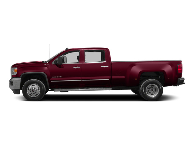 Sonoma Red Metallic 2015 GMC Sierra 3500HD Pictures Sierra 3500HD Crew Cab Denali 2WD photos side view