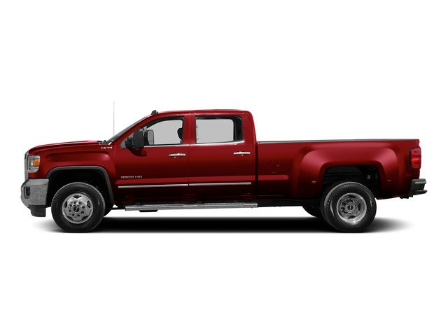 Fire Red 2015 GMC Sierra 3500HD Pictures Sierra 3500HD Crew Cab Work Truck 2WD photos side view