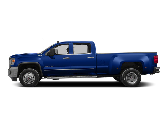 Cobalt Blue Metallic 2015 GMC Sierra 3500HD Pictures Sierra 3500HD Crew Cab Work Truck 2WD photos side view